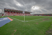 The County Ground during the Sky Bet League 1 match between Swindon Town and Gillingham at the County Ground, Swindon, England on 26 December 2015. Photo by Shane Healey.