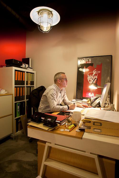 Case study of Alexander Bridges architectural design service for Johnston Works, a Bermondsey based Branding & Design Agency