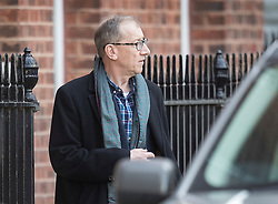 © Licensed to London News Pictures. 30/01/2018. London, UK. Prime Minister Theresa May's husband Philip May leaves Downing Street to travel to China on a three day trade and diplomatic visit.  Photo credit: Peter Macdiarmid/LNP