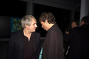 NICK RHODES; NAT RHODES, ArtSensus presents ' Naked Soul' by Meredith Ostrom in support of Youth for Youth. Howick Place. London. 12 March 2009