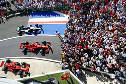 July 8, 2018 - Silverstone, Great Britain - Motorsports: FIA Formula One World Championship 2018, Grand Prix of Great Britain, .#5 Sebastian Vettel (GER, Scuderia Ferrari) (Credit Image: © Hoch Zwei via ZUMA Wire)