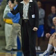 11/17/11 Newark DE: Delaware head coach Tina Martin during a NCAA Women's College basketball game, Thursday, Nov. 17, 2011 at the Bob carpenter center in Newark Delaware...Delaware defeat The Lady Nittany Lions of Penn State 80-71, behind Elena Delle Donne 40 point scoring effort...Special to The News Journal/SAQUAN STIMPSON
