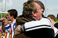 HEERLERHEIDE 03/05/2009 GROENE STER - UDI19. COMPETITIEWEDSTRIJD EERSTE KLASSE - SEIZOEN 2008-2009. KNUFFEL VOOR TRAINER JOHN MEIJS. Foto: John Kraijenbrink/Pix4Profs