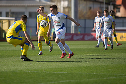Matija Sirok of NK Domzale during football match between NK Domzale and NK Celje in Round #20 of Prva liga Telekom Slovenije 2017/18, on April 18, 2018 in Sports Park Domzale, Domzale, Slovenia. Photo by Urban Urbanc / Sportida