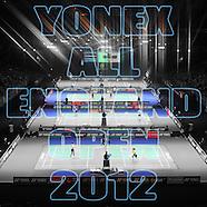 Yonex All England 2012 - 12 x 12 Book