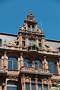 Residential house, classical architecture in Frankfurt am Main, Germany