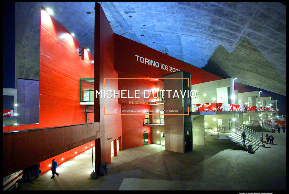 Torino architettura olimpica.Palavela..