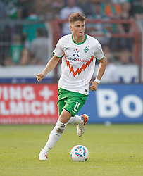 23.08.2011, Osnatel Arena, Osnabrueck, GER, FSP, Werder Bremen (GER) vs Fenerbahce Istanbul /TUR) im Bild Sebastian Prödl / Proedl (Werder Bremen AUS #15) am Ball // during friendly match Werder Bremen (GER) vs Fenerbahce Istanbul (TUR)  on 2011/08/23, Osnatel Arena,  Osnabrueck   EXPA Pictures © 2011, PhotoCredit: EXPA/ nph/  Scholz       ****** out of GER / CRO  / BEL ******