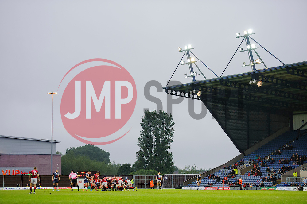- Photo mandatory by-line: Rogan Thomson/JMP - 07966 386802 - 28/05/2014 - SPORT - RUGBY UNION - Kassam Stadium, Oxford - London Welsh v Bristol Rugby - Greene King IPA Championship Play Off Final First Leg.