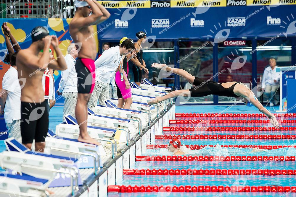 Team Russian Federation RUS<br /> Mixed Medley 4x100 Heats<br /> Swimming - Kazan Arena<br /> Day13 05/08/2015<br /> XVI FINA World Championships Aquatics Swimming<br /> Kazan Tatarstan RUS July 24 - Aug. 9 2015 <br /> Photo A.Masini/Deepbluemedia/Insidefoto