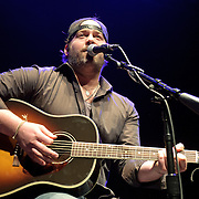SILVER SPRING, MD- February 7th, 2013 - Lee Brice performs at the 98.7 WMZQ I Heart Country Concert benefitting the American Heart Association at the Fillmore Silver Spring in Silver Spring, MD.  Brice, a former football player at Clemson, is still riding high off of the success of his sophomore album, Hard 2 Love, which reached No. 5 in the Billboard 200 album chart in 2012. ( Photo by Kyle Gustafson/For The Washington Post)