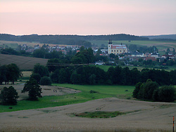 CZECH REPUBLIC VYSOCINA NEDVEZI AUG10 - Landscape near the town of Bystre, Vysocina, Czech Republic...jre/Photo by Jiri Rezac..© Jiri Rezac 2010