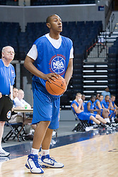 Player #74.  The National Basketball Players Association held a camp for the Top 100 high school basketball prospects at the John Paul Jones Arena at the University of Virginia in Charlottesville, VA from June 20, 2007 through June 23, 2007.