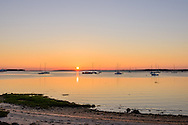 Boats, Sunrise, Sag Harbor Bay, Sag Harbor, NY