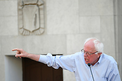 Sen. Bernie Sanders (I-VT), joined by hospital workers, union members and local politicians protests the imminent closure of Hahnemann University Hospital at a rally in Philadelphia, PA on July 15, 2019. The struggling Center City located hospital announced it will seize operations and is facing out critical services like Emergency access and the maternity ward unless support is found to end the financial turmoil