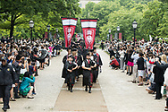 University of Chicago Convocation - Max Palevsky lunch and  diploma ceremony.