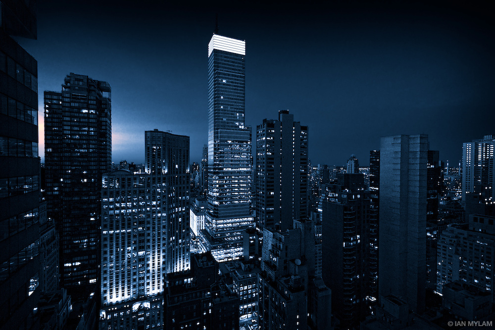 Night Mood - New York City, U.S.A.