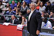 DESCRIZIONE : Campionato 2014/15 Dinamo Banco di Sardegna Sassari - Dolomiti Energia Aquila Trento<br /> GIOCATORE : Romeo Sacchetti<br /> CATEGORIA : Allenatore Coach<br /> SQUADRA : Dinamo Banco di Sardegna Sassari<br /> EVENTO : LegaBasket Serie A Beko 2014/2015<br /> GARA : Dinamo Banco di Sardegna Sassari - Dolomiti Energia Aquila Trento<br /> DATA : 04/04/2015<br /> SPORT : Pallacanestro <br /> AUTORE : Agenzia Ciamillo-Castoria/L.Canu<br /> Predefinita :