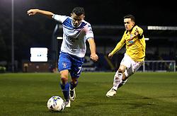 Zeli Ismail of Bury goes past Zach Clough of Bolton Wanderers - Mandatory by-line: Robbie Stephenson/JMP - 24/10/2016 - FOOTBALL - Gigg Lane - Bury, England - Bury v Bolton Wanderers - Sky Bet League One
