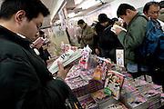 Manga bookshop in Akihabara. Adult section