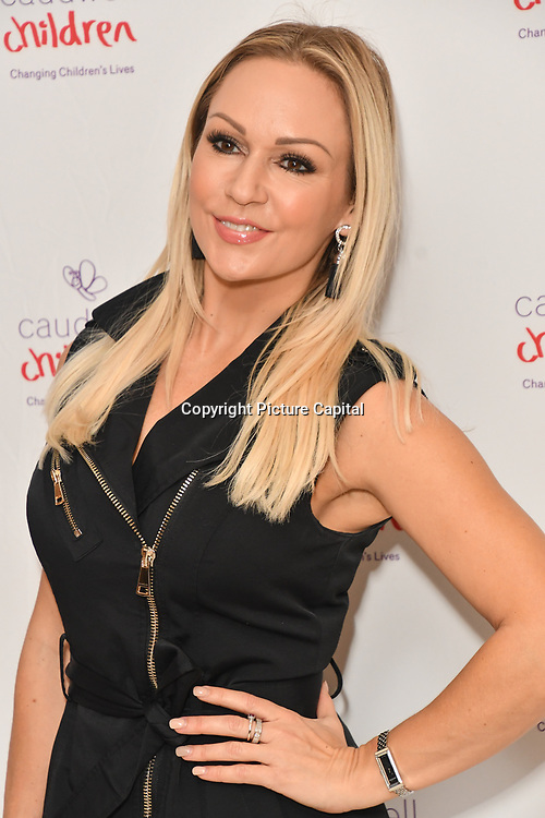 Kristina Rihanoff attends the Children's charity hosts fashion and beauty lunch event, with live entertainment at The Dorchester, London, UK. 12 October 2018.