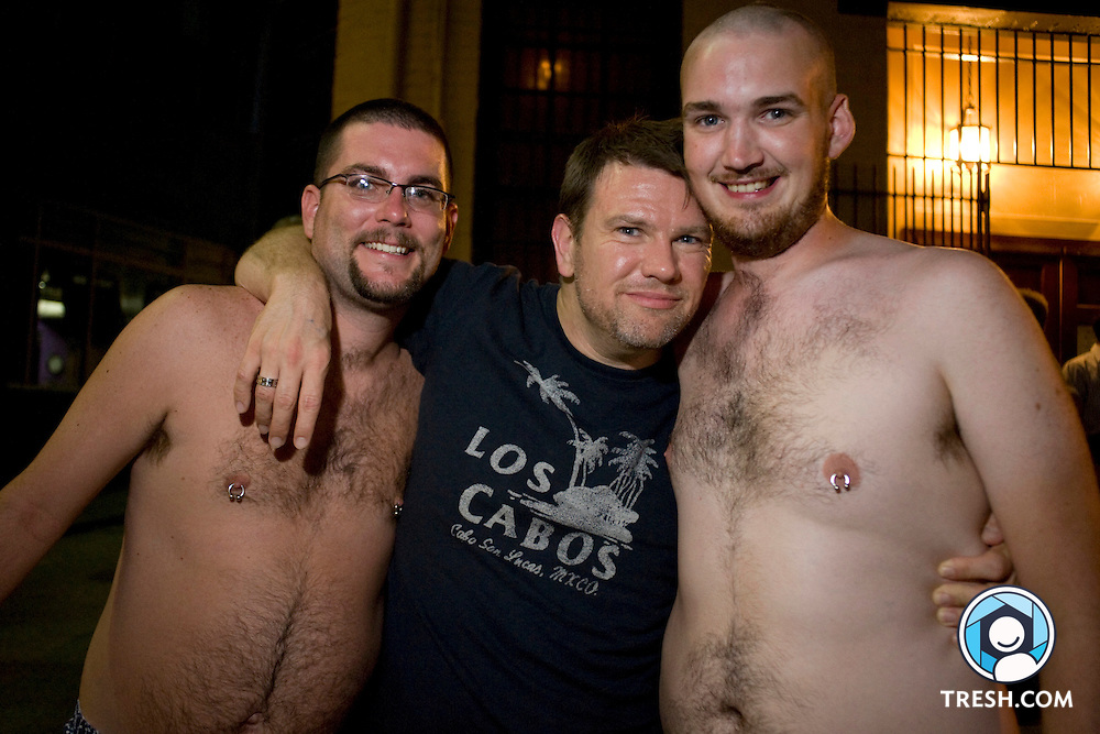Images from Bear Invasion XII, a fundraising gathering of big men and their admirers, August 8-10, 2008, in Washington, D.C., hosted by the District of Columbia Bear Club. Proceeds from weekend donations will go to Brother Help Thyself, an organization through which member-clubs raise and disburse funds to AIDS service providers and the GLBTQ community. ..http://www.brotherhelpthyself.org/