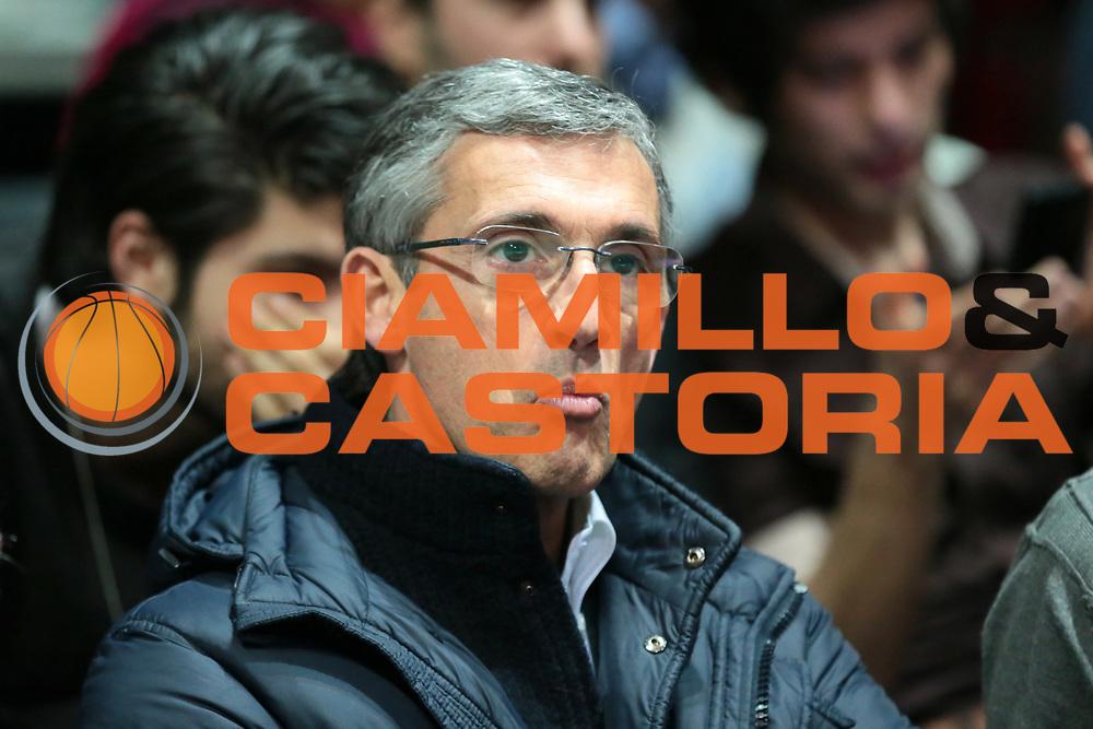 DESCRIZIONE : Bologna Lega A 2014-15 <br /> GIOCATORE : Presidente FERNANDO MARINO<br /> CATEGORIA : delusione<br /> SQUADRA : Enel Brindisi<br /> EVENTO : Campionato Lega A 2014-15<br /> GARA : Granarolo Bologna Enel Brindisi<br /> DATA : 15/03/2015<br /> SPORT : Pallacanestro <br /> AUTORE : Agenzia Ciamillo-Castoria/D.Vigni<br /> Galleria : Lega Basket A 2014-2015 <br /> Fotonotizia : Bologna Lega A 2014-15 Granarolo Bologna Enel Brindisi<br /> Creator/Photographer: danilovigni<br /> Predefinita :