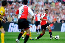 27-04-2008 VOETBAL: KNVB BEKERFINALE FEYENOORD - RODA JC: ROTTERDAM <br /> Feyenoord wint de KNVB beker - Leroy Fer<br /> ©2008-WWW.FOTOHOOGENDOORN.NL