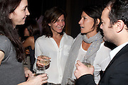 STEFANIA  BORTALAMI; RACHEL BORTALAMI, Frieze week party at the Sanderson hotel hosted by Andrew Kreps Gallery and Anton Kern Gallery . Billiard Room at Sanderson. London. 16 October 2010. <br /> <br /> -DO NOT ARCHIVE-© Copyright Photograph by Dafydd Jones. 248 Clapham Rd. London SW9 0PZ. Tel 0207 820 0771. www.dafjones.com.