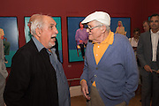 JOHN HOOPER; DAVID HOCKNEY, David Hockney RA: 82 Portraits and 1 Still-life. Royal Academy of Arts. Piccadilly. London. 28 June 2016