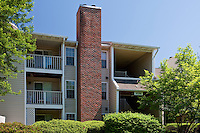 Architectural photography of Burke Shire Commons Apartments in Burke VA by Jeffrey Sauers of Commercial Photographics.