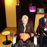 Miljonairfair 2004, Natascha Froger - Kunst in relaxstoel