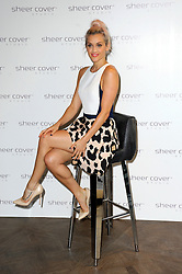 Image ©Licensed to i-Images Picture Agency. 29/07/2014. London, United Kingdom. American singer and dancer appears at London bar to mark being appointed the face of mineral makeup range Sheer Cover Studio. Picture by Chris Joseph / i-Images