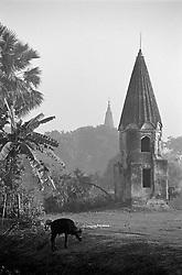 BANGLADESH SONARGAON FEB95 - Old temple at Sonargaon south of Dhaka, Bangladesh...jre/Photo by Jiri Rezac..© Jiri Rezac 1995