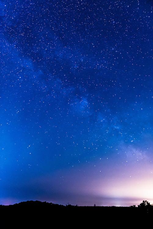 Milky Way, astro-photography from Torrance Barrens Dark Night Reserve in Muskoka, Ontario.