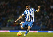 Brighton central midfielder, Beram Kayal (7) during the Sky Bet Championship match between Brighton and Hove Albion and Birmingham City at the American Express Community Stadium, Brighton and Hove, England on 28 November 2015.