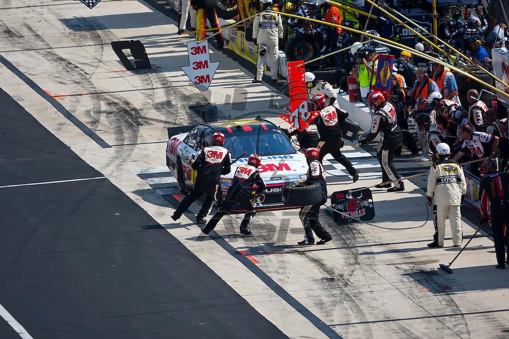 DOVER, DE - JUN 03, 2012:  Greg Biffle (16) races during the FedEx 400 Benefiting Autism Speaks at the Dover International Speedway in Dover, DE.