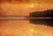 Sunset at Setting Lake