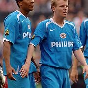 NLD/Rotterdam/20060507 - Finale competitie 2005/2006 Gatorade cup Ajax - PSV, Michael Ball (rechts)