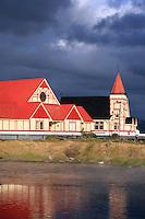 St Faith's Anglican church at Ohinemutu on Lake Rotorua