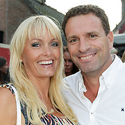 NLD/Blaricum/20120822 - Blaricumse Kermis 2012, Sophia de Boer en partner Eric Kwant