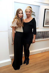 Left to right, ANOUSKA BECKWITH and her mother TAMARA BECKWITH at a private view of 'Most Wanted' an exhibition of photographs held at The Little Black Gallery, Park Walk, London on 27th November 2008.