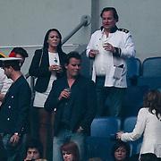 NLD/Amsterdam/20120519 - Toppers in Concert 2012, Leco van Zadelhof en daarboven Remco Voortman