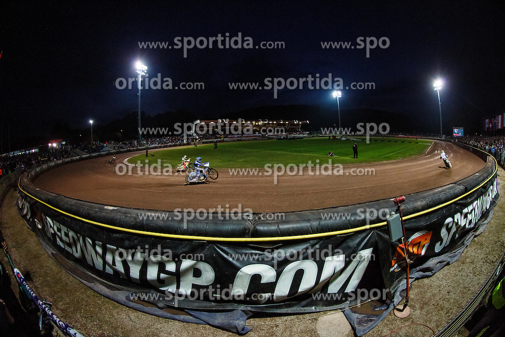 Stadium Matija Gubca during FIM Speedway Grand Prix World Cup, Krsko, on 30. April, 2016, in Sports park Krsko, Slovenia. Photo by Grega Valancic / Sportida