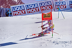 March 15, 2019 - Andorra - Tessa WORLEY during the Men's race SG, Audi Fis Alpine Ski World Cup, Finals Round, on March 14, 2019 in Soldeu - El Tarter, Andorra (Credit Image: © AFP7 via ZUMA Wire)
