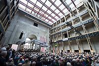 12 JUN 2015, BERLIN/GERMANY:<br /> Innenhof im Rohbau waehrend dem Richtfest Berliner Schloss - Humbold Forum<br /> IMAGE: 20150612-01-214