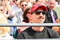 Zlatan IBRAHIMOVIC  - 28.05.2015 - Jour 5 - Roland Garros 2015<br />Photo : Dave Winter /  Icon Sport
