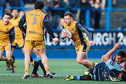 Andy Uren of Bristol Rugby in action - Rogan Thomson/JMP - 21/01/2017 - RUGBY UNION - Cardiff Arms Park - Cardiff, Wales - Cardiff Blues v Bristol Rugby - EPCR Challenge Cup.
