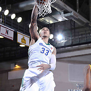 Reno Bighorns Center Ty Walker (33) dunks the ball in the second half of a NBA D-league regular season basketball game between the Delaware 87ers and the Reno Bighorns (Sacramento Kings), Tuesday, Feb. 10, 2015 at The Bob Carpenter Sports Convocation Center in Newark, DEL