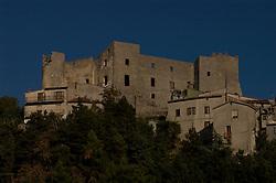 Moliterno, Basilicata, Italy - The castle of Moliterno